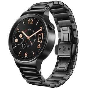 ساعت هوشمند هوآوی Watch 42mm Steel Case with Black Steel Link Bracelet Band Smart Watch